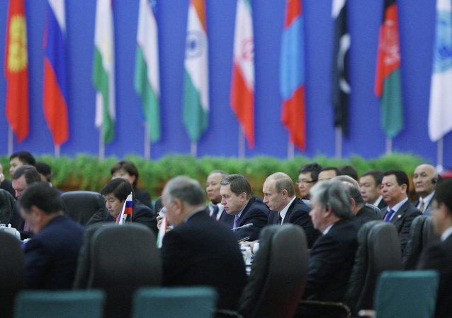 Sesión del Consejo de jefes de gobiernos de Estados miembros de OCS (archivo)