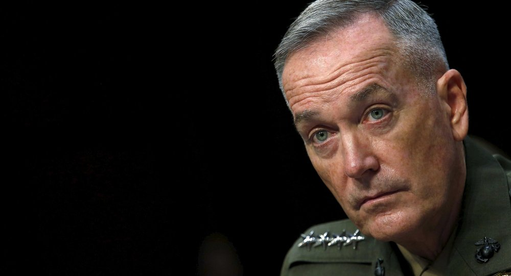 General Joseph Dunford, presidente del Estado Mayor Conjunto de EEUU