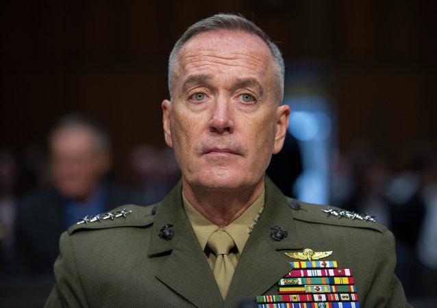 Joseph Dunford, jefe del Estado Mayor Conjunto de EEUU
