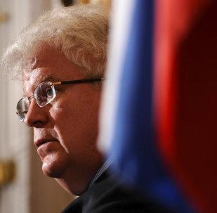 Vladímir Chizhov, embajador de Rusia ante la Unión Europea