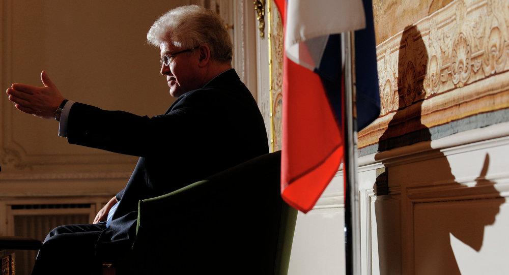 Vladímir Chizhov, embajador ruso ante la UE