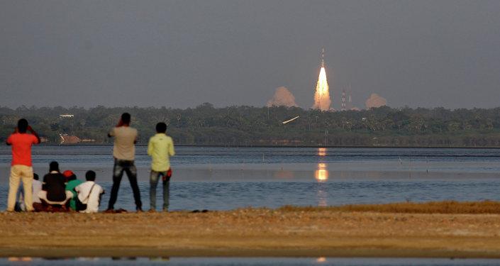 Cohete portador PSLV (archivo)