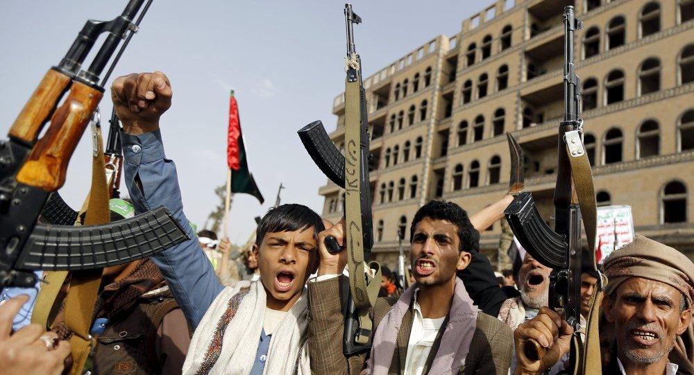 Hutíes yemeníes