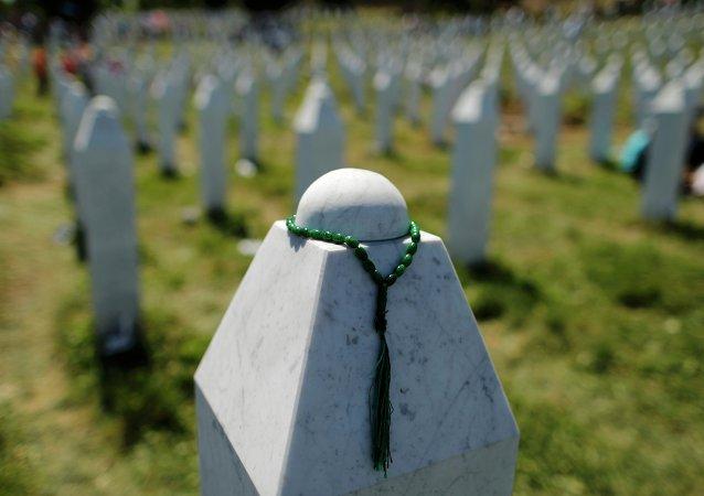 Memorial del Genocidio, en Potocari (Srebrenica)
