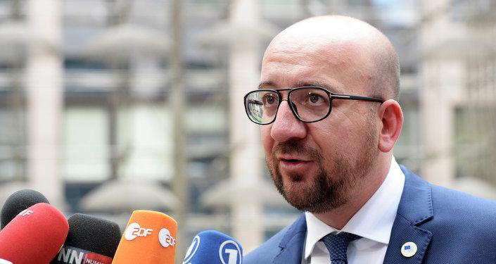 Charles Michel, primer ministro de Bélgica