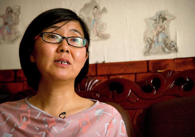 Wang Yu, defensora de los derechos humanos en China