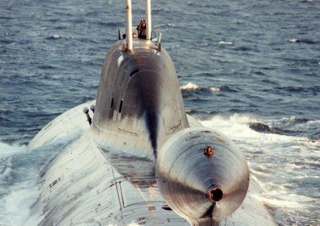 Submarino nuclear del Proyecto 971 'Shchuka-B'