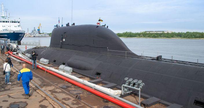 Un submarino nuclear de Rusia (imagen referencial)