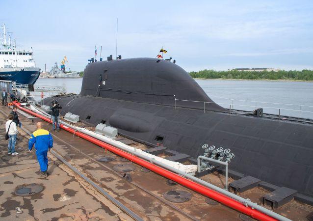 Submarino nuclear de Rusia del proyecto Yasen
