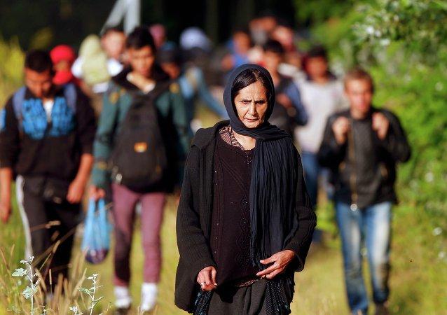 Refugiados afganos (imagen referencial)