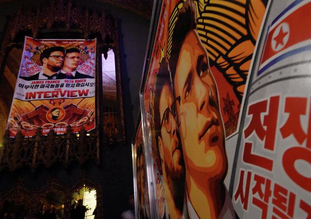 Acivistas surcoreanos lanzan al Norte globos con copias de La entrevista