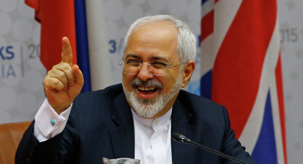 Mohamad Yavad Zarif, ministro de Exteriores de Irán