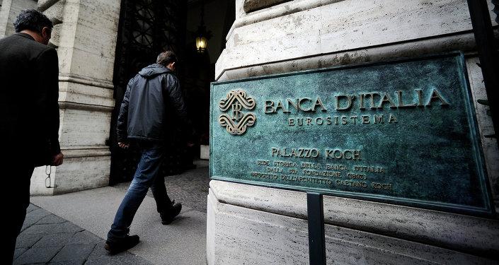 Banco de Italia en Roma