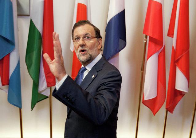 Mariano Rajoy, presidente del Gobierno de España