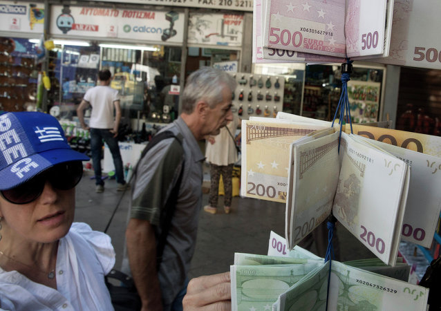 Carteras diseñadas como las billetes de euro