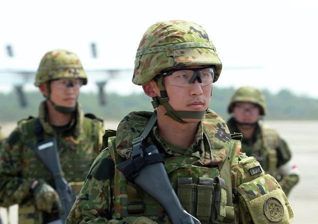 Soldados japoneses (archivo)