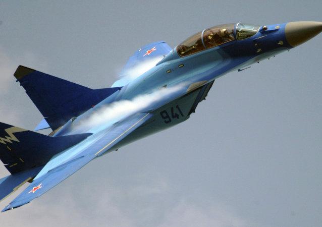 Un MiG-29K (archivo)