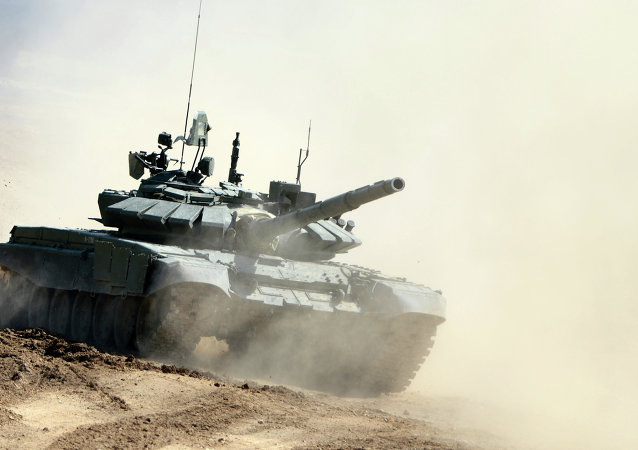 Tanque T-72B3 (archivo)