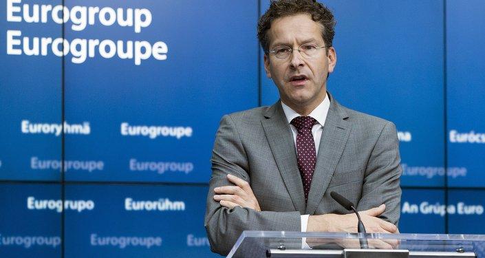 Jeroen Dijsselbloem, presidente de Eurogrupo