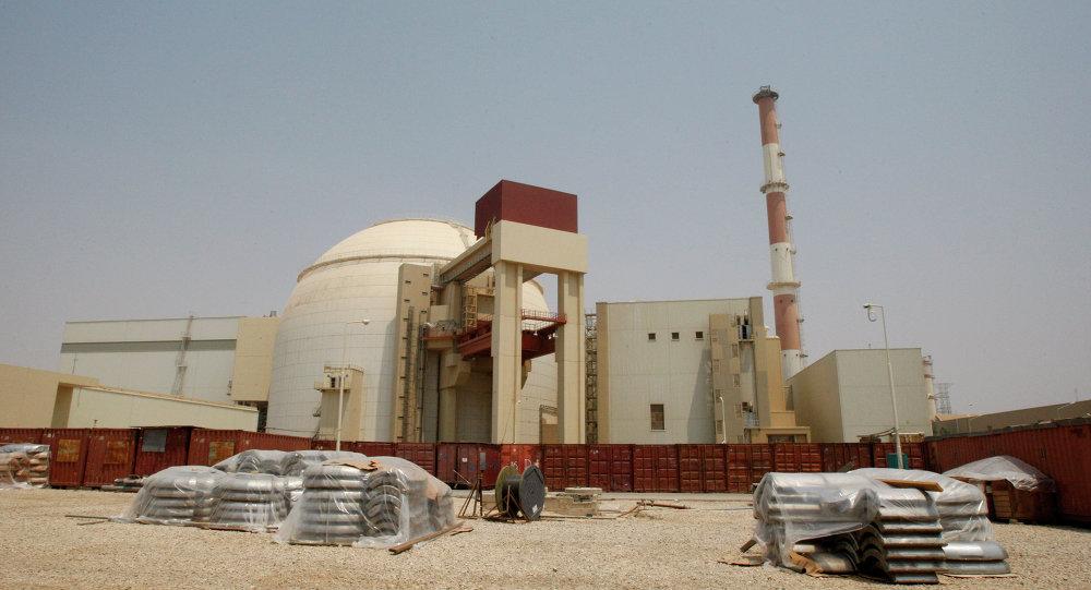 Planta de energía nuclear Bushehr en Irán