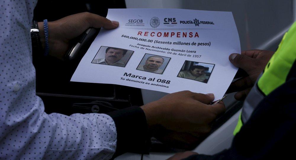 Reparten en México 100.000 folletos con fotos del Chapo Guzmán