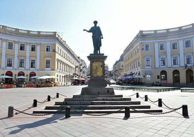 Monumento al duque de Richelieu en Odesa