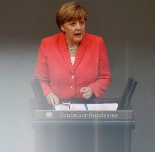Ángela Merkel, canciller federal de Alemania