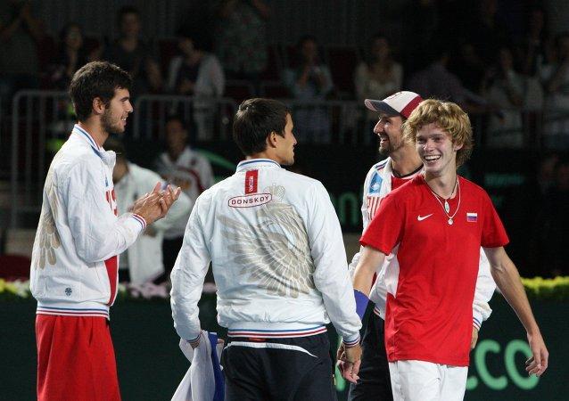 Selección rusa de tenis