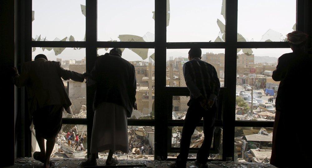 Bombardeos en Yemen (archivo)