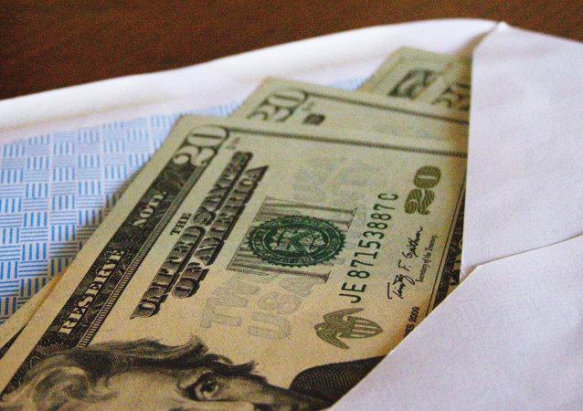 Un soborno (imagen referencial)
