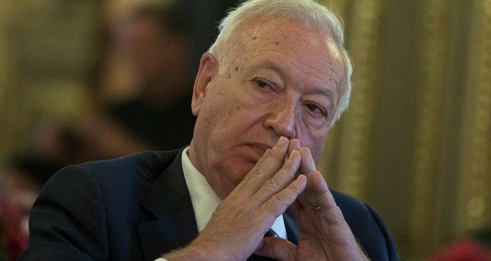 José Manuel García-Margallo, ministro de Asuntos Exteriores y Cooperación de España