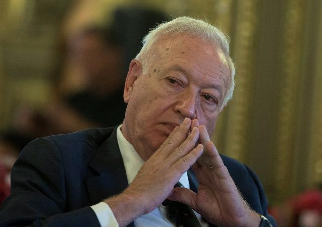 José Manuel García-Margallo, ministro de Exteriores español