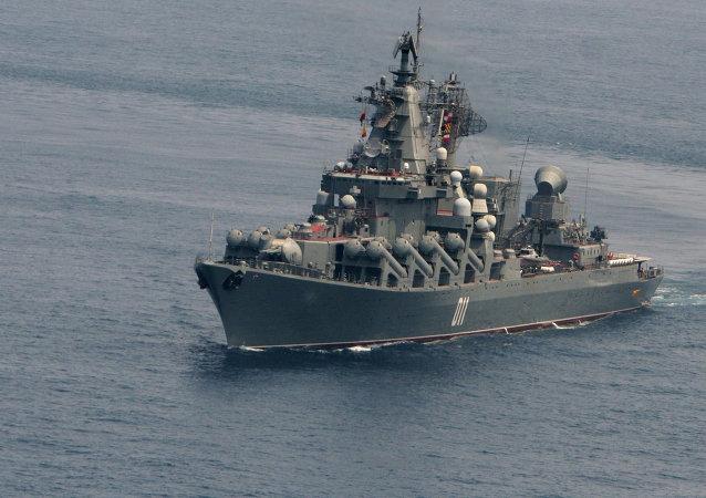 Batalla naval en el mar de Ojotsk