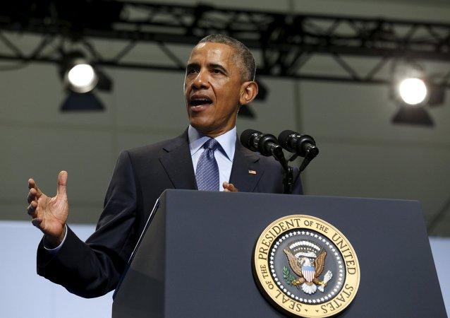 Barack Obama, presidente de EEUU, el 21 de julio, 2015