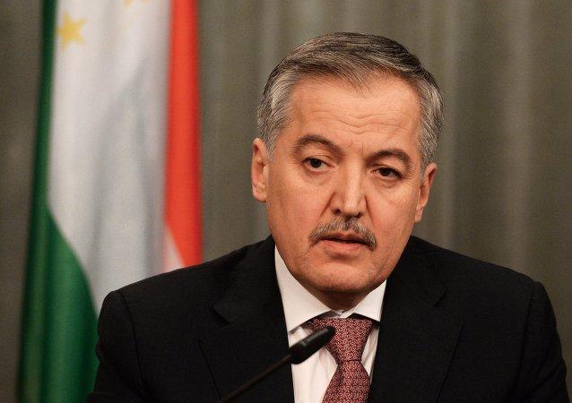 Sirodjidin Asloven, ministro de Exteriores de Tayikistán