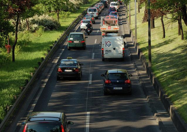 Tráfico en Viena