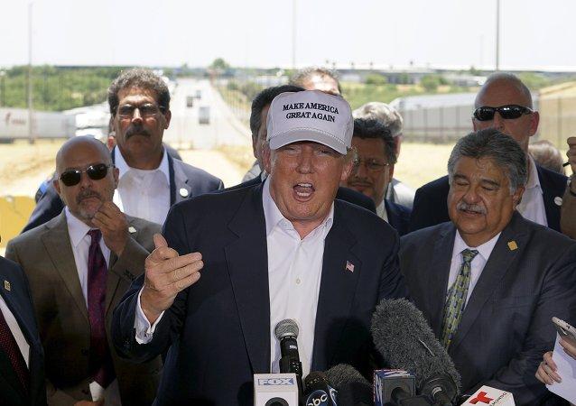 Donald Trump, precandidato republicano a la presidencia de EEUU