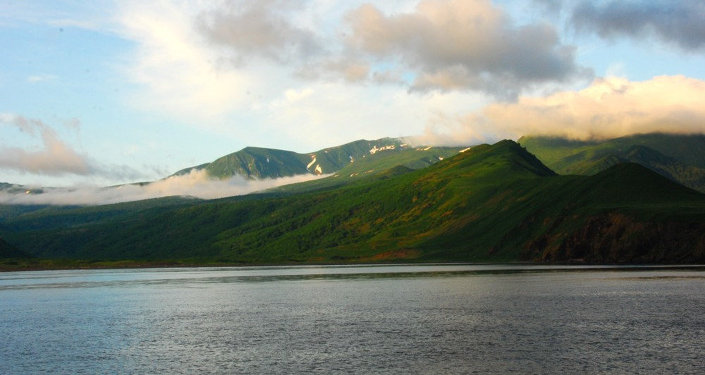 Las islas Kuriles, Rusia