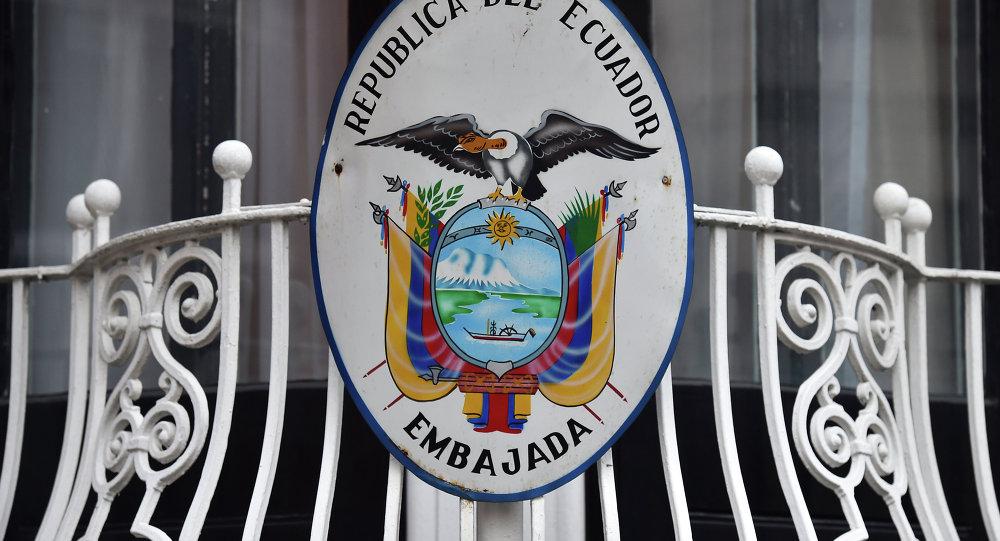 Embajada de Ecuador en Gran Bretaña