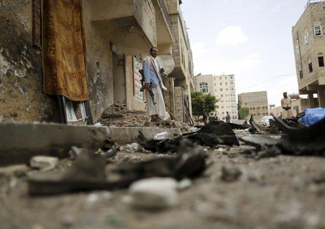 Situación en Saná, la capital de Yemen (archivo)
