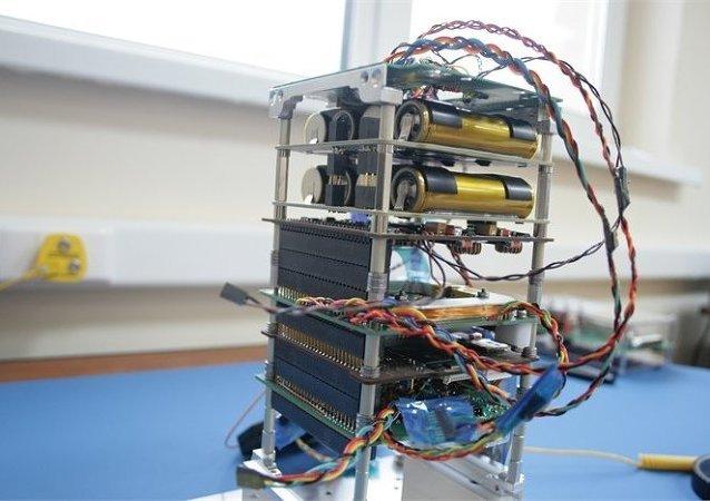 El nanosatélite SamSat-218