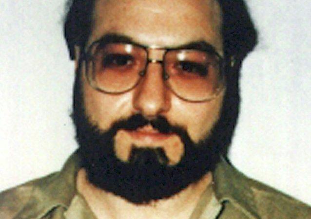 Fotografía de Jonathan Pollard, espía israelí condenado a cadena perpetua, hecha en 1991