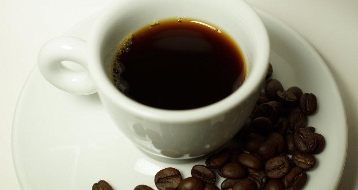 Una tasa de café