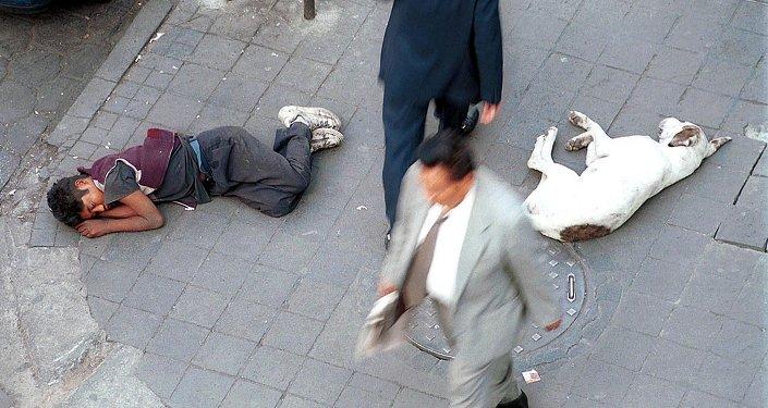 Un mendigo mexicano