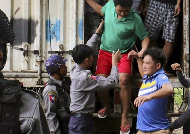 Birmania decreta amnistía para casi 7.000 personas