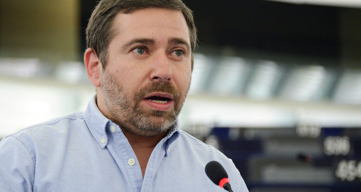 Javier Couso, eurodiputado español por Izquierda Unida