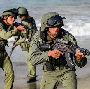 Soldados venezolanos