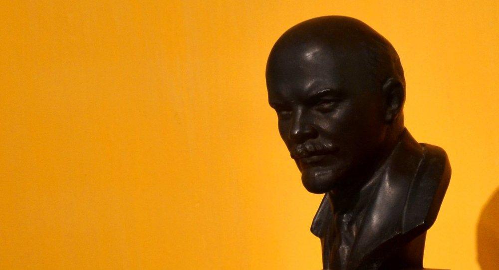 Un busto de Lenin