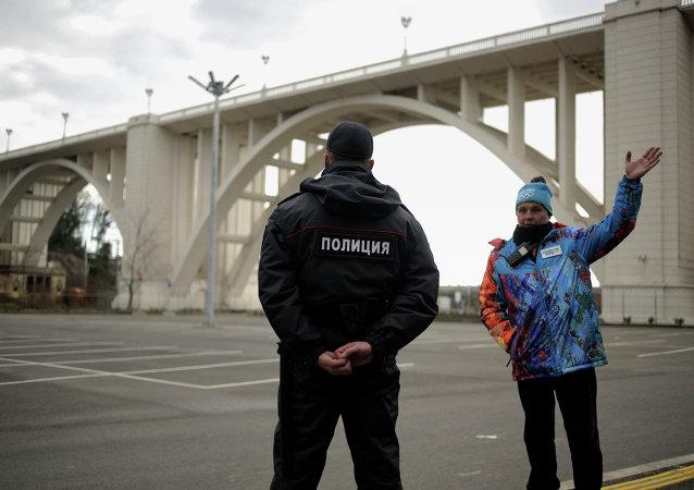 Policía en Sochi (Archivo)