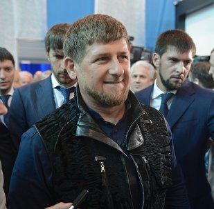 Ramzán Kadírov, líder de la República Chechena